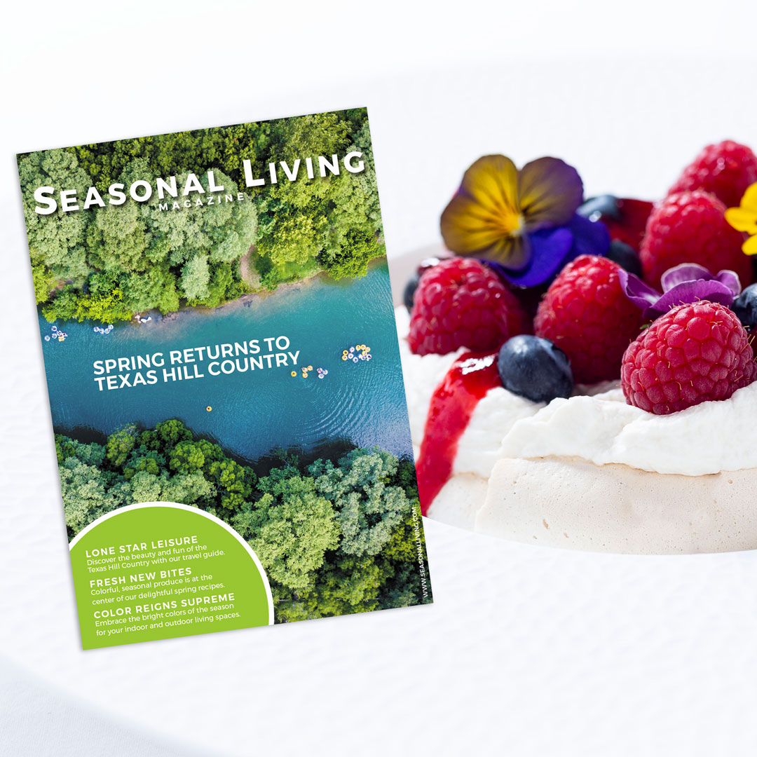 seasonal living magazine cover