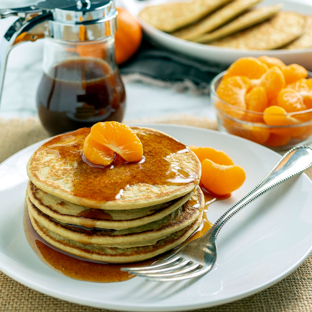 clementine power pancakes