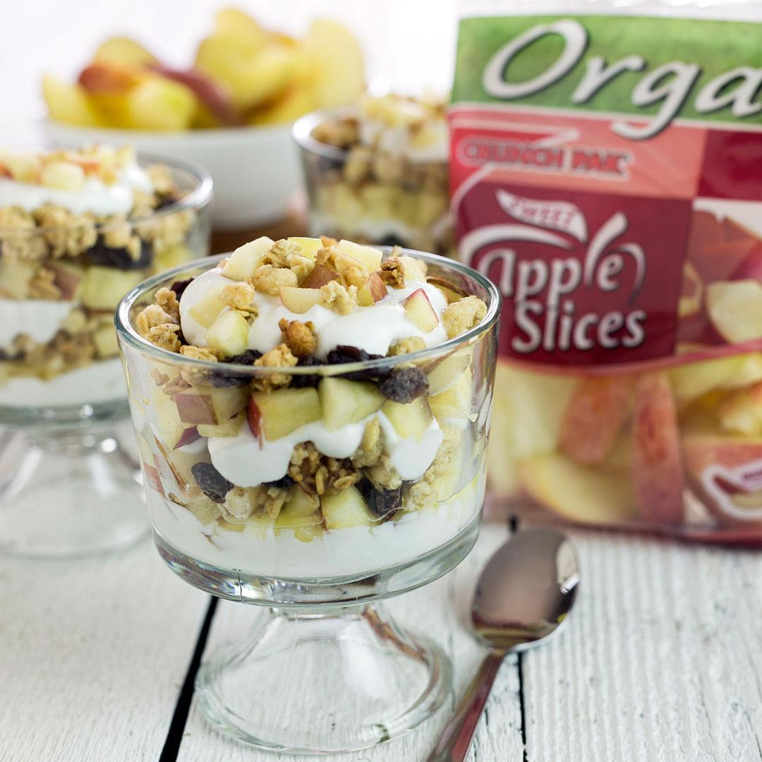 apple granola yogurt