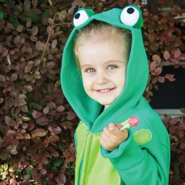 kid's frog costume