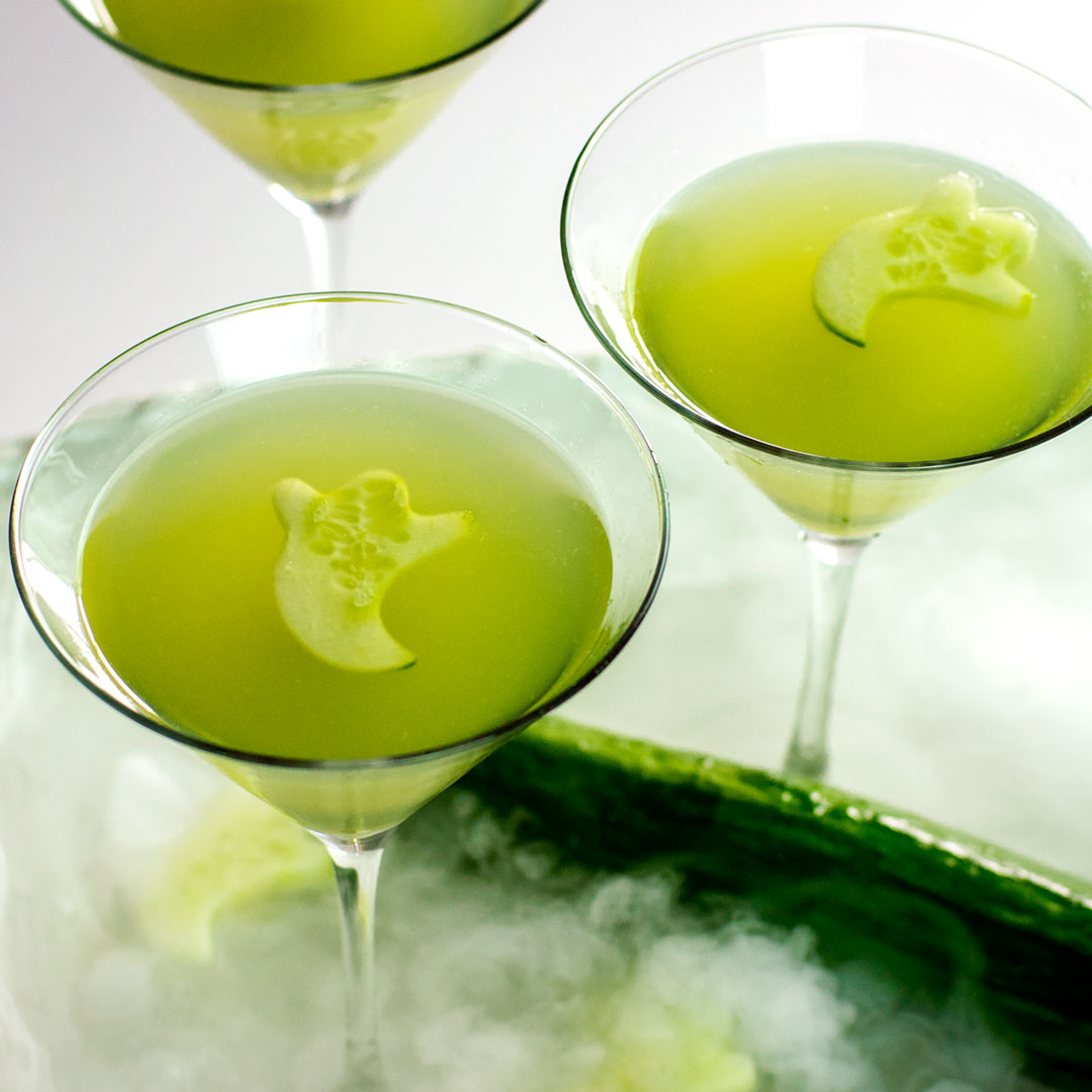 cucumber ghost cocktail