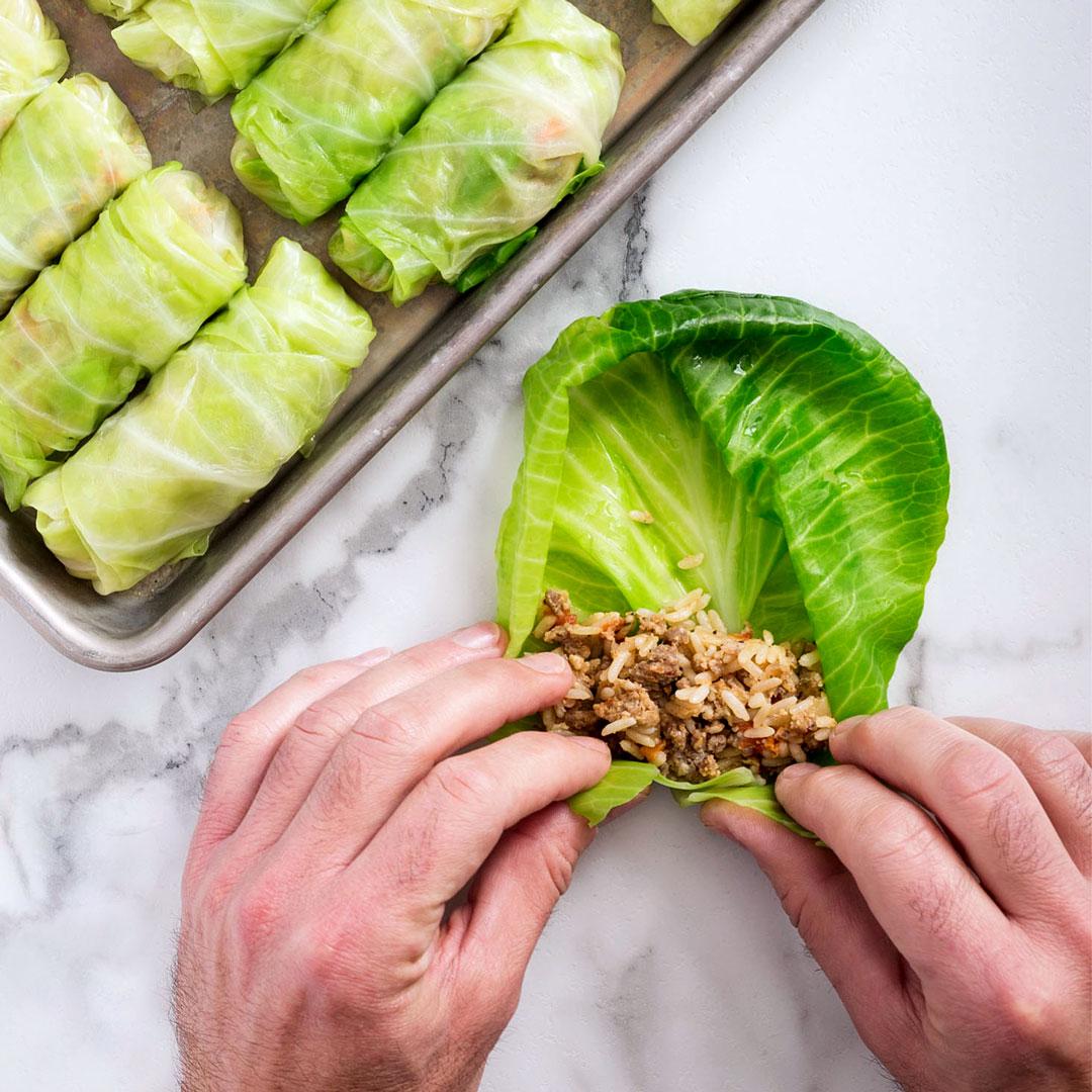 cabbage egg rolls